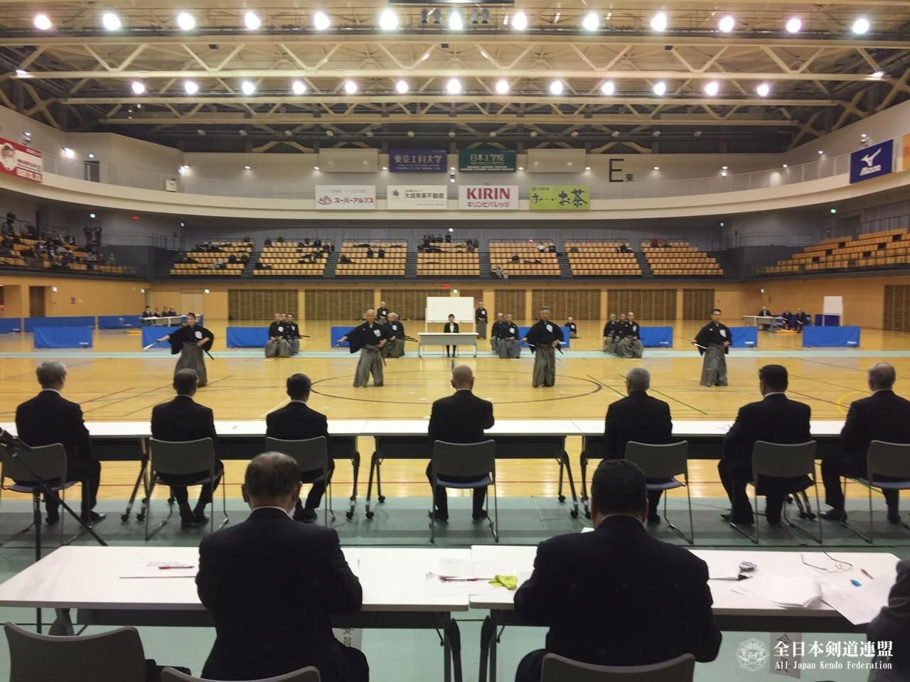 Аттестация на 8-й дан иайдо прошла в Токио